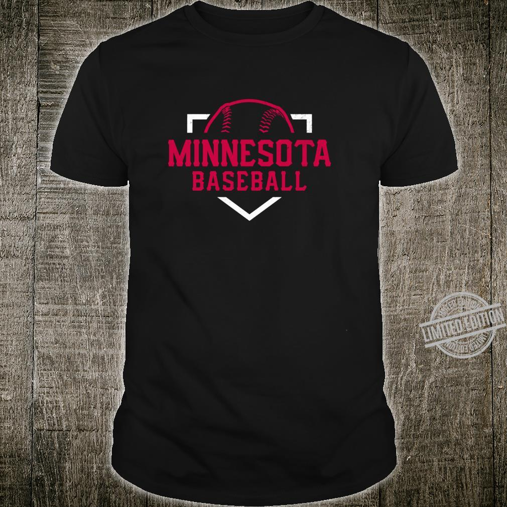 Vintage Minnesota Baseball Minneapolis Twin City Retro Shirt