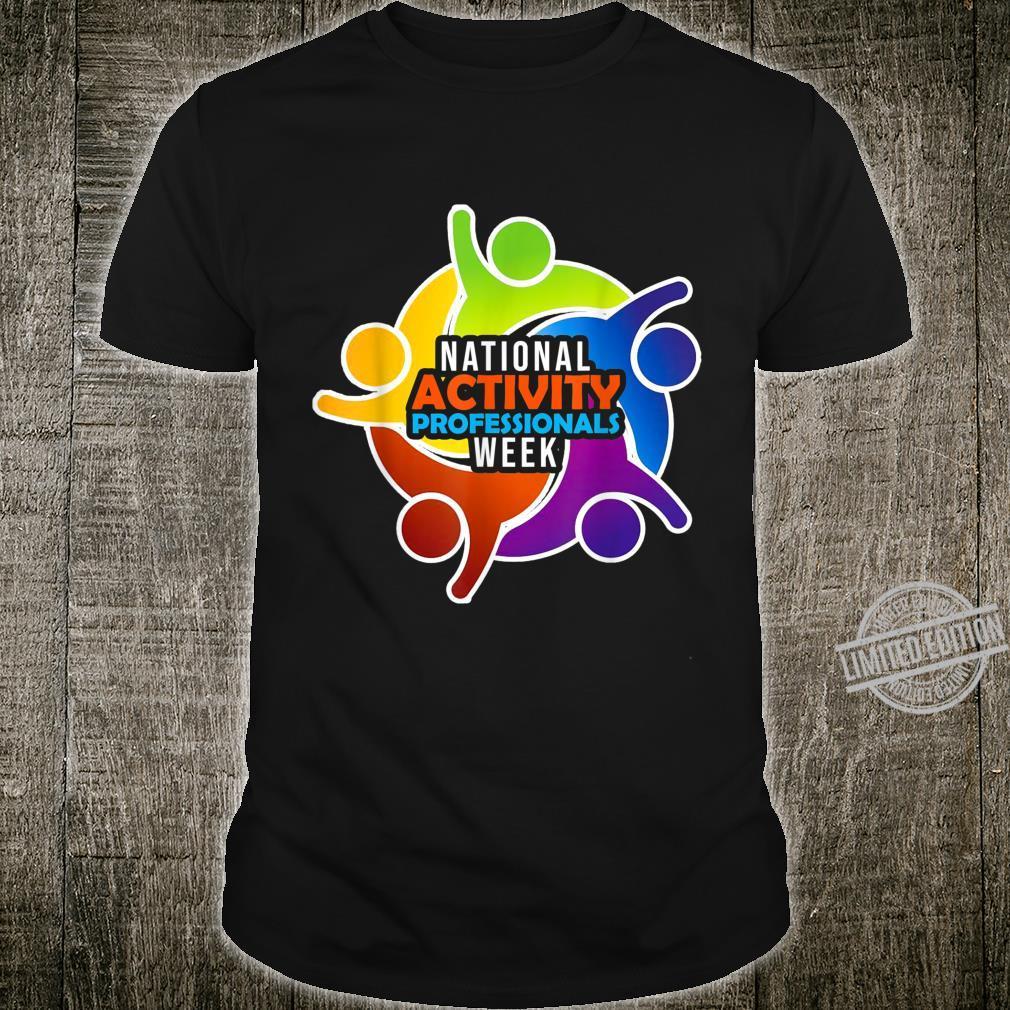 Women National Activity Professionals Week Shirt