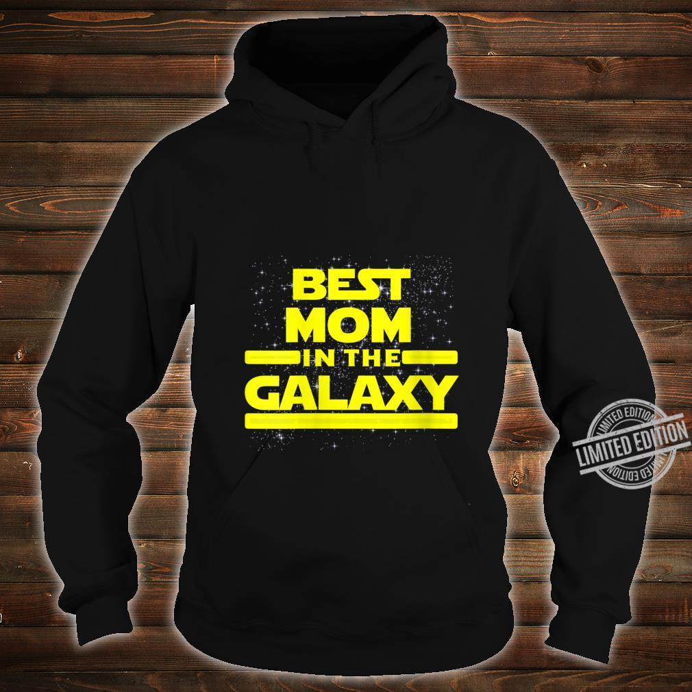 Womens Best Mom in Galaxy Shirt for Mom Star Shirt hoodie