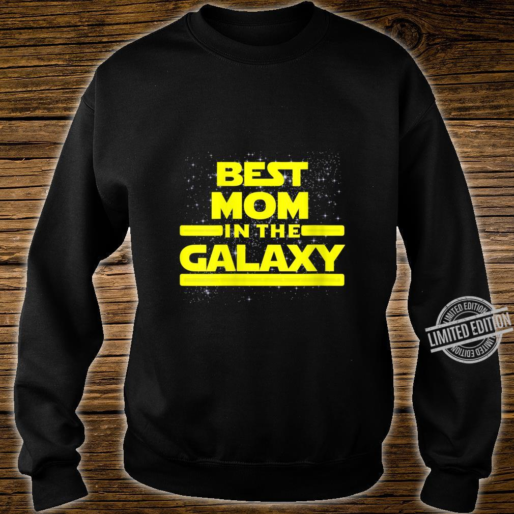 Womens Best Mom in Galaxy Shirt for Mom Star Shirt sweater